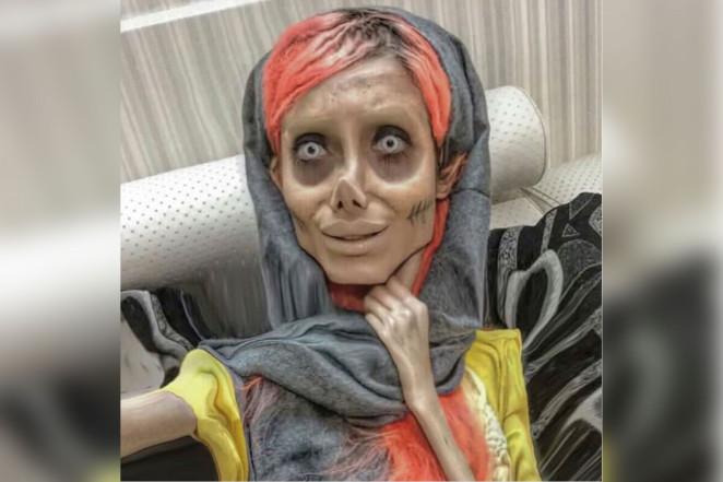 Angelina Jolie Zumbi
