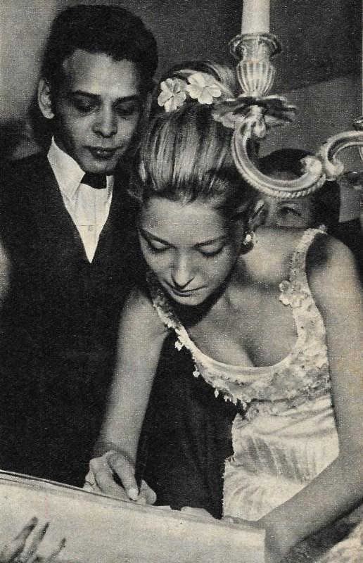 Foto do casamento de Dener Pamplona e Maria Stella Splendore.