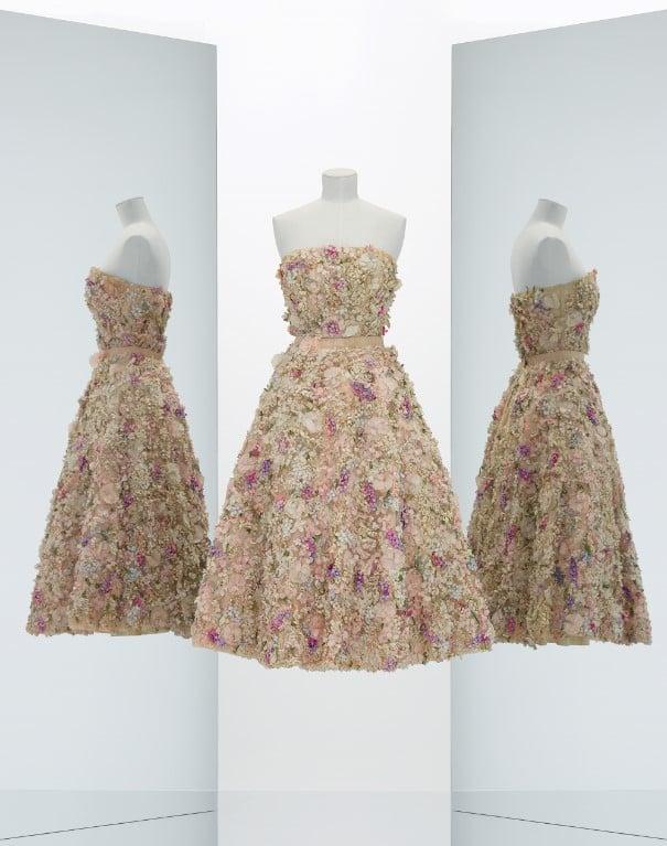 Vestido Miss Dior, coleção de 1949.