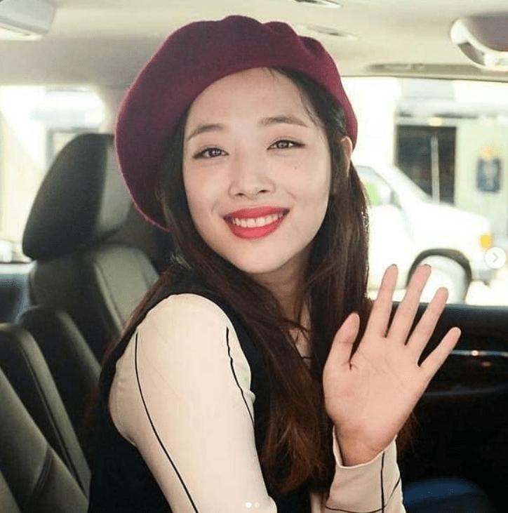 Sulli cantora de K-pop