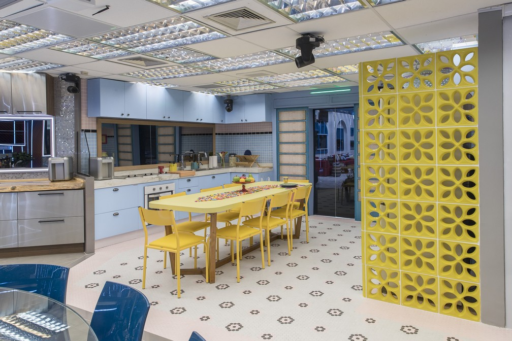 Cozinha do BBB21 - Globo