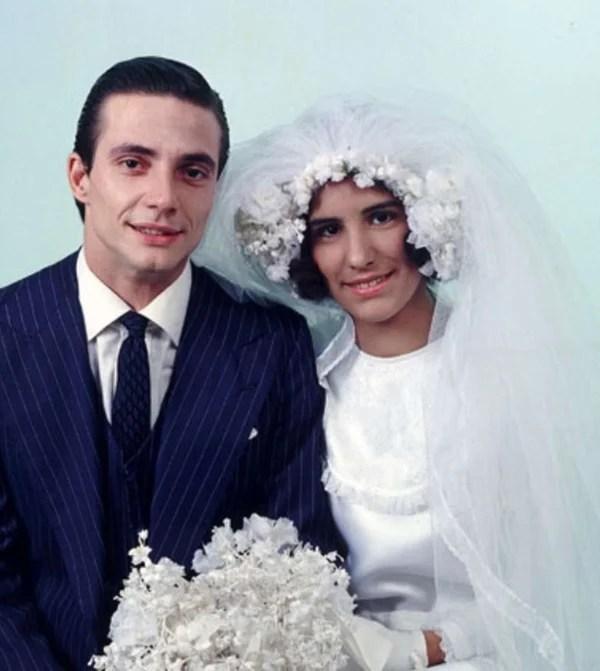 Casamento de Fábio Júnior e Gloria Pires.