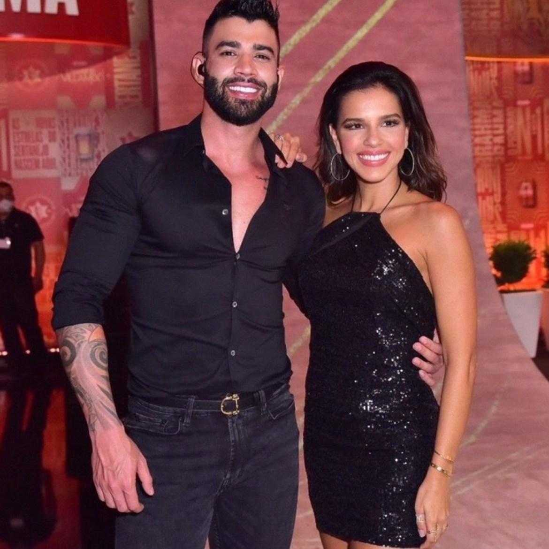 Gusttavo Lima e Mariana Rios.