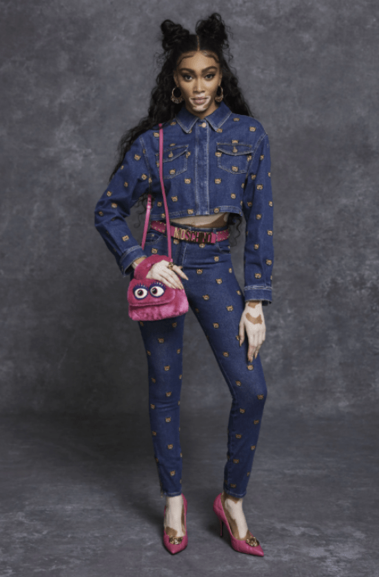 Look Moschino all jeans Pre-fall 21