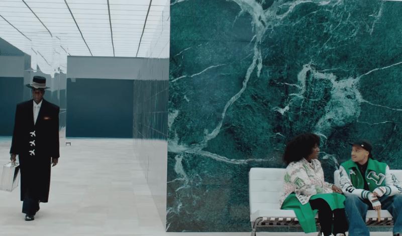Vídeo coleção Louis Vuitton na moda masculina internacional