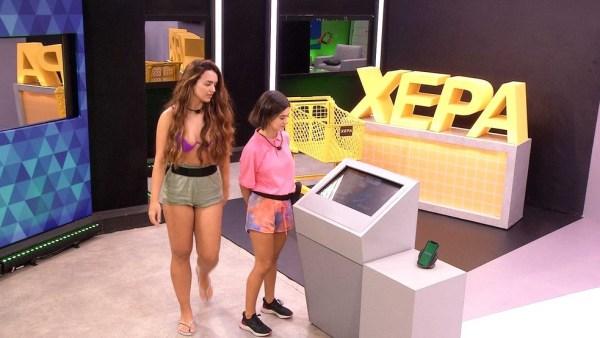 Rafa e Manu na Xepa do BBB20 - Globo