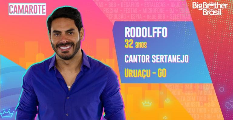 Rodolffo, ex de Rafa Kalimann, está no BBB21 - gLOBO