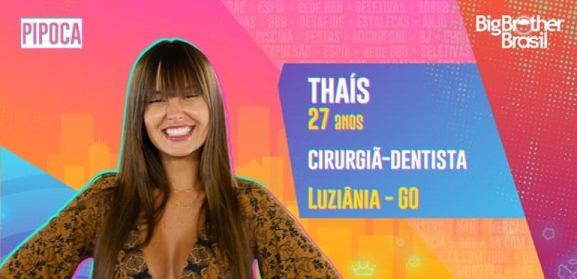 Thais do BBB21 - Globo