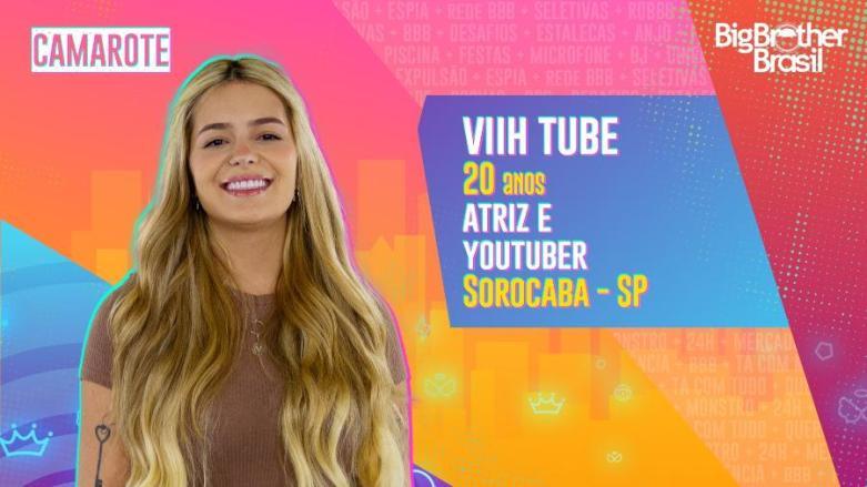 Viih Tube é do time Camarote - Reprodução