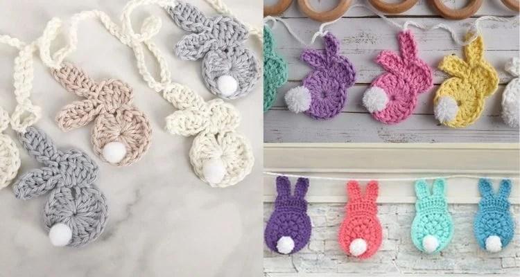 opções de cordão decorativo para Páscoa