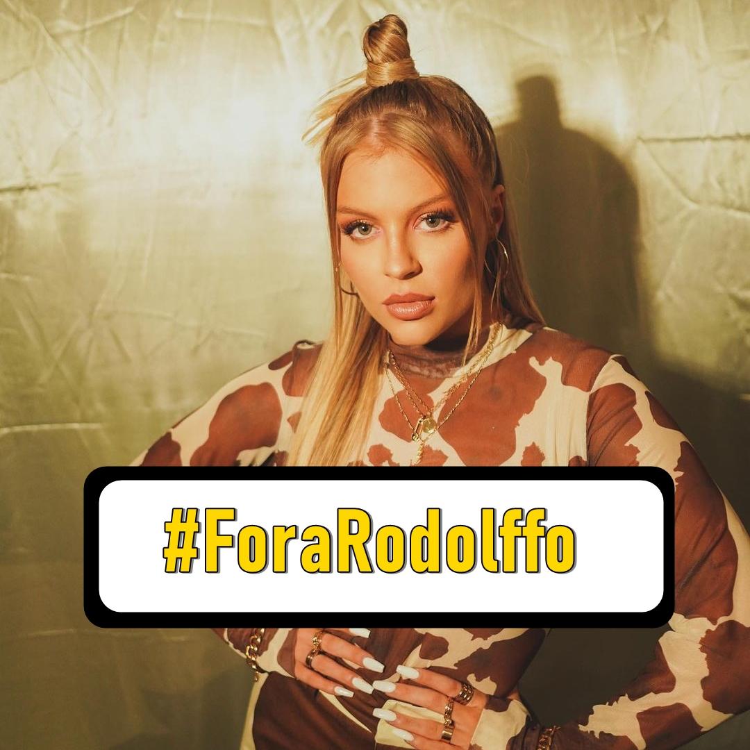 #ForaRodolffo, fãs de Luísa Sonza.