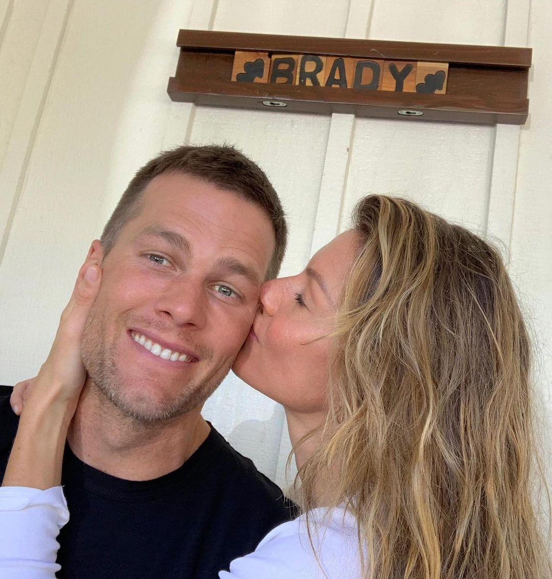 Tom Brady e Gisele Bündchen.