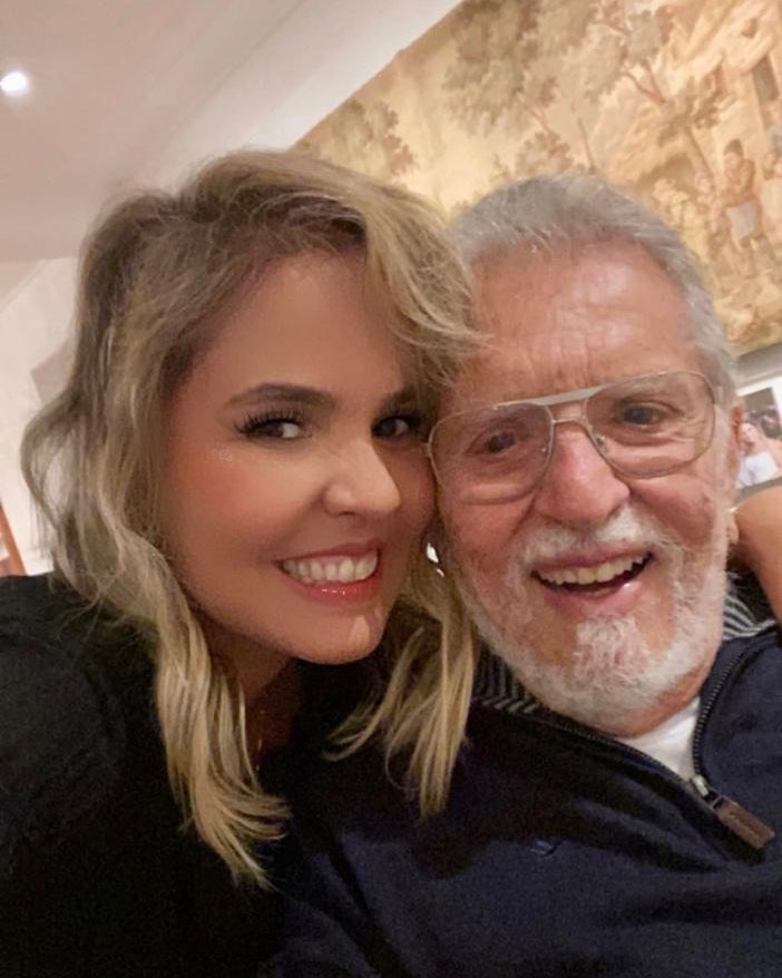 Renata Domingues e Carlos Alberto.