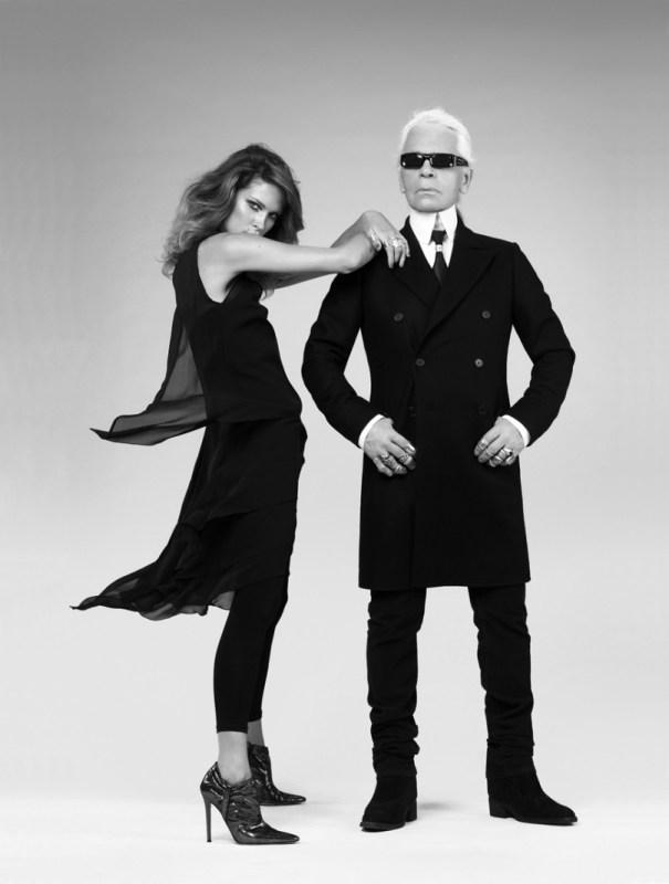 Karl Lagerfeld para H&M.