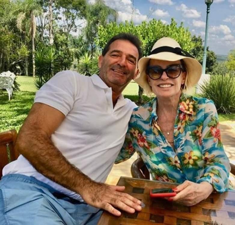 Ana Maria e Johnny Lucet - Reprodução