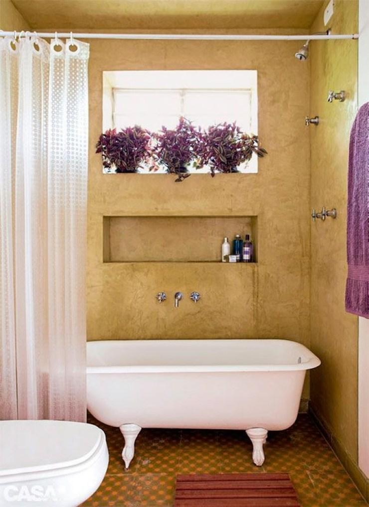 Banheiro antigo chique