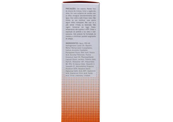 embalagem de produto mostrando rótulo