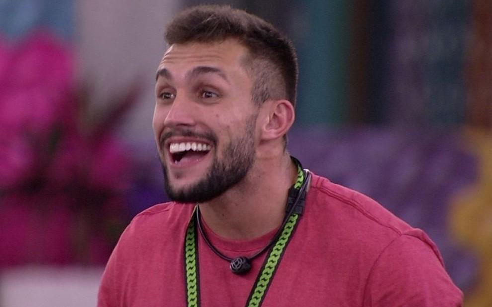 Arthur será o indicado ao paredão do BBB21 - Globo