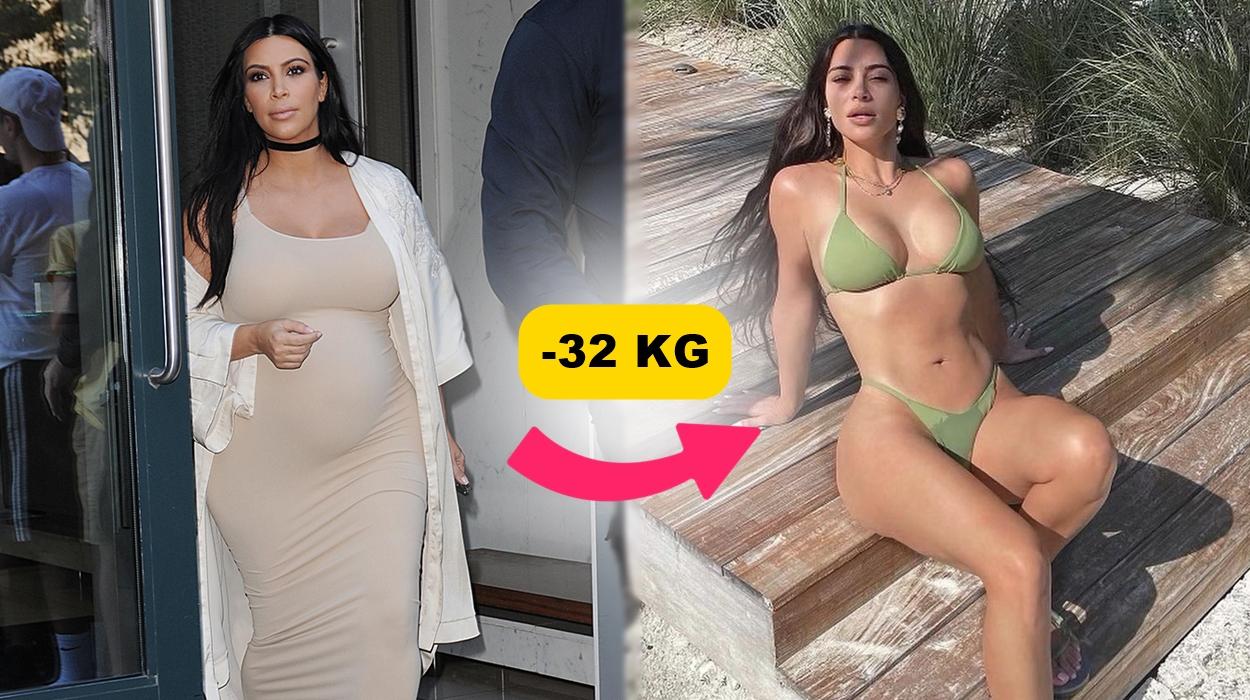 Kim Kardashian mais magra.