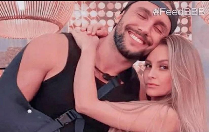 Carla e Arthur no BBB 21 - Globo