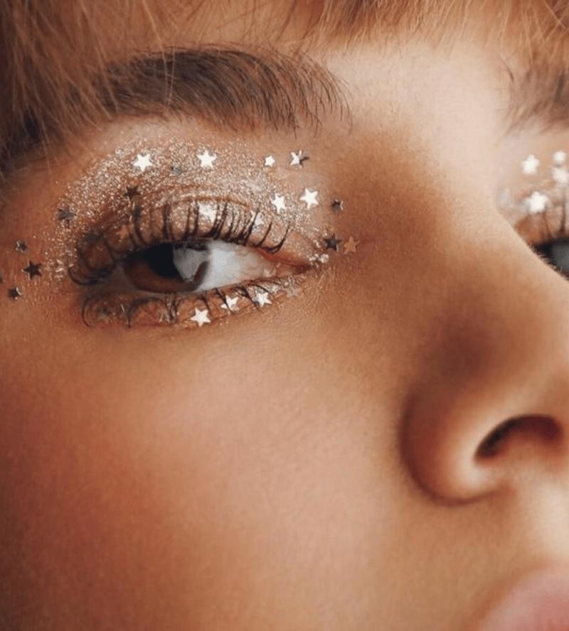 Maquiagem estrela para o carnaval 2021
