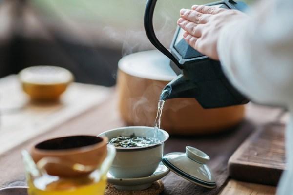 Como preparar chás