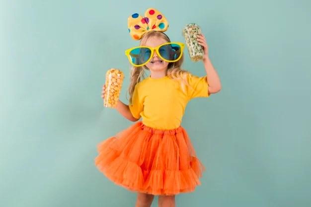 criança no carnaval