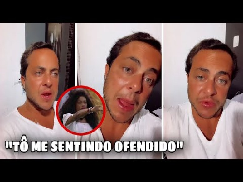 Thammy Miranda vai processar Lumena do BBB21 - Reprodução/Globo