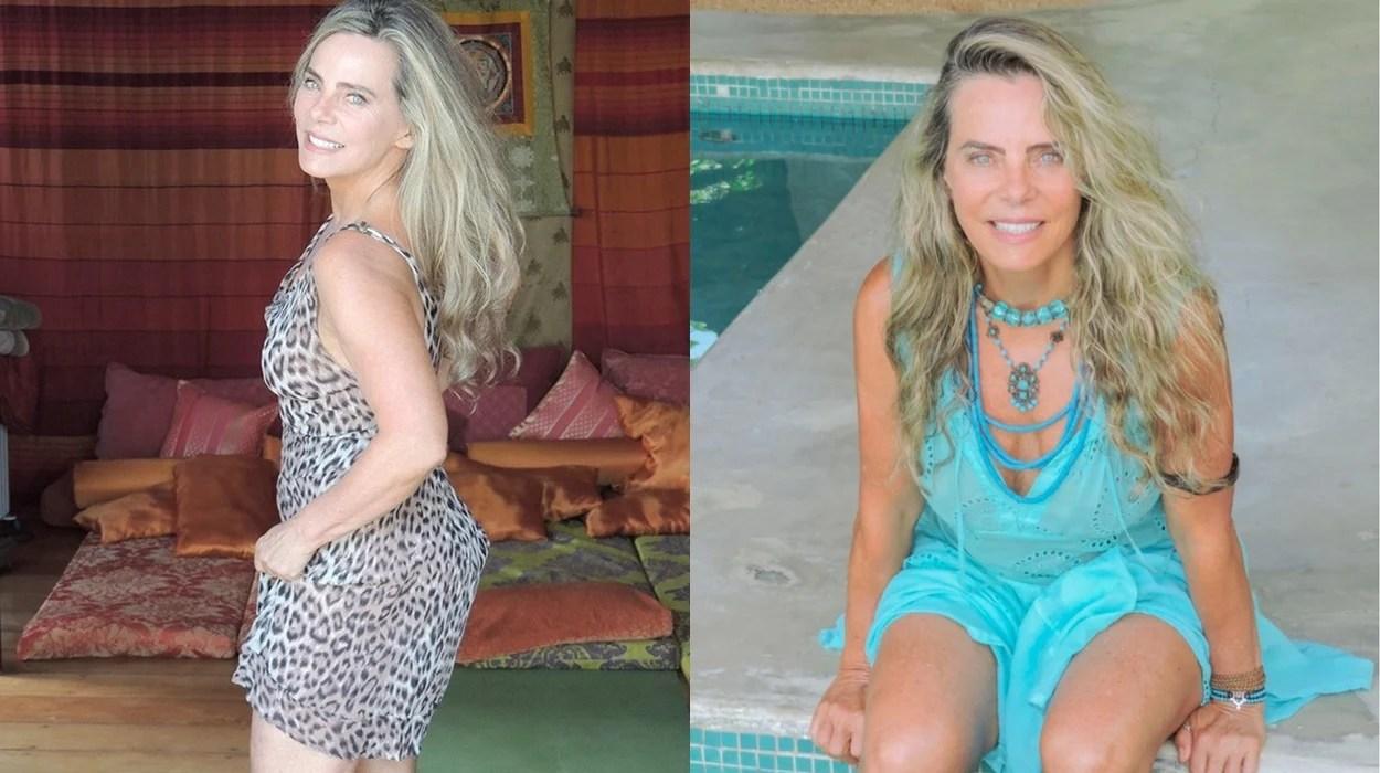 Atriz e escritora Bruna Lombardi.