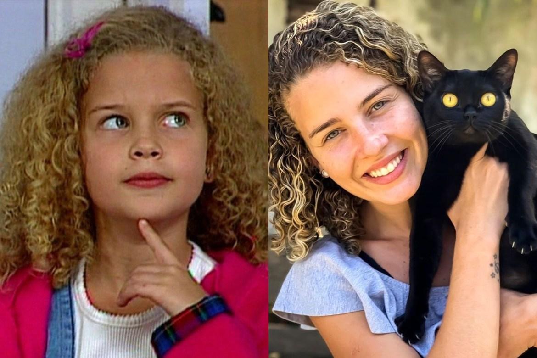 Debby Lagranha antes e depois.