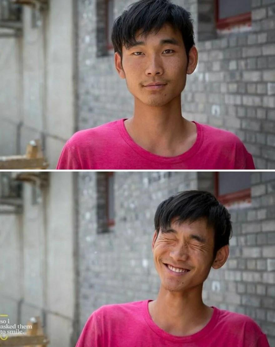 fotos sorrindo