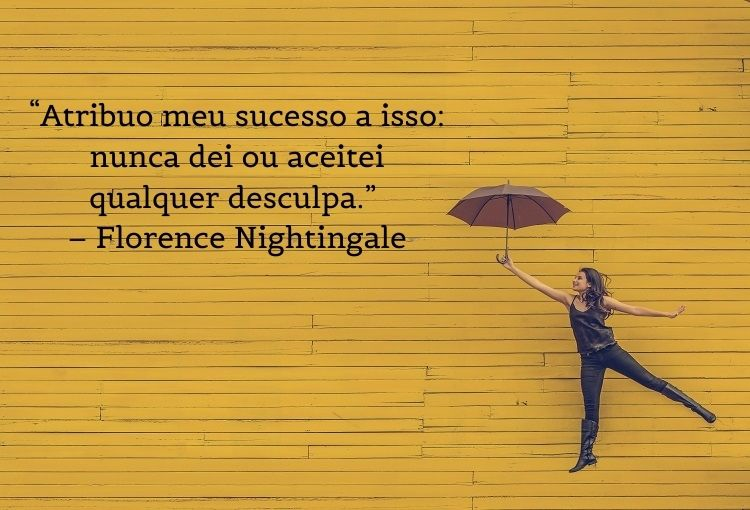 frase de mulheres empoderadas Florence Nightingale