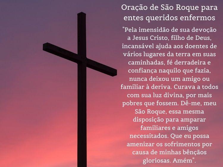 oração para São Roque