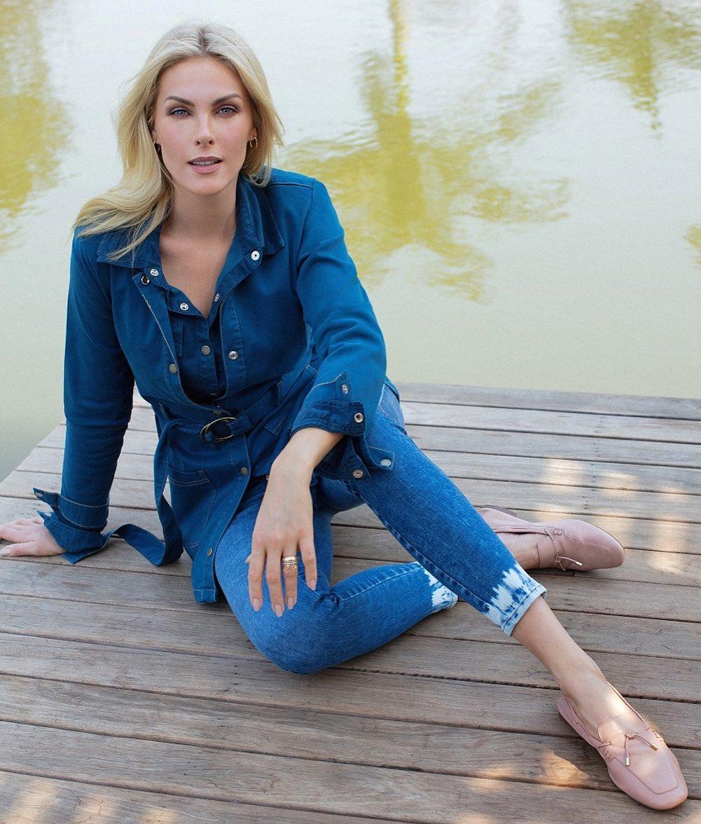 Modelo Ana Hickmann.