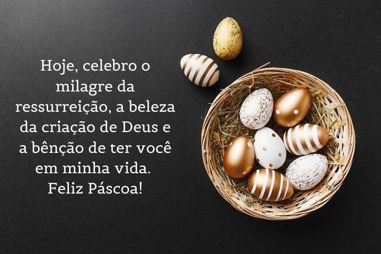 mensagem de Páscoa religiosa