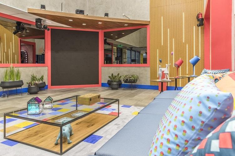 sala do Big Brother Brasil 2021