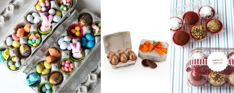 caixa de ovo Páscoa
