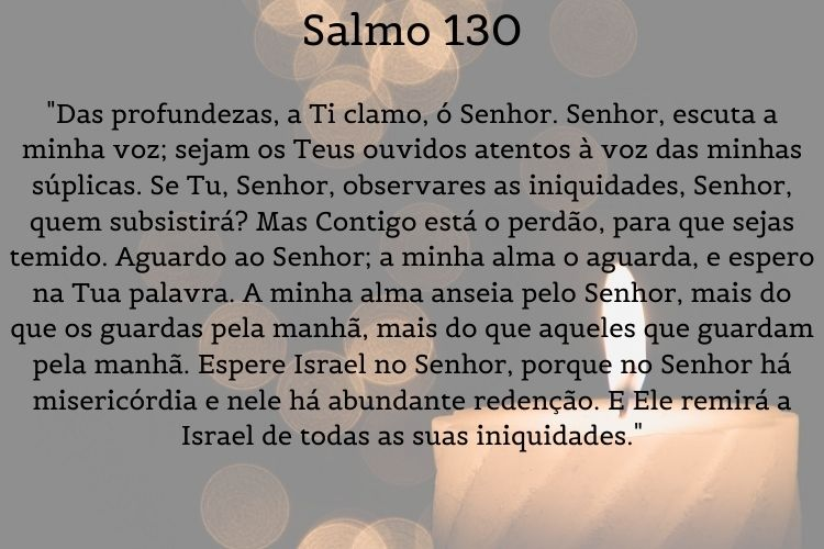 salmo de cura, salmo 130