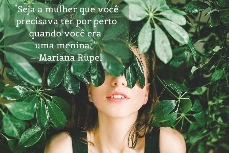 frase dia das mulheres Mariana Rupel