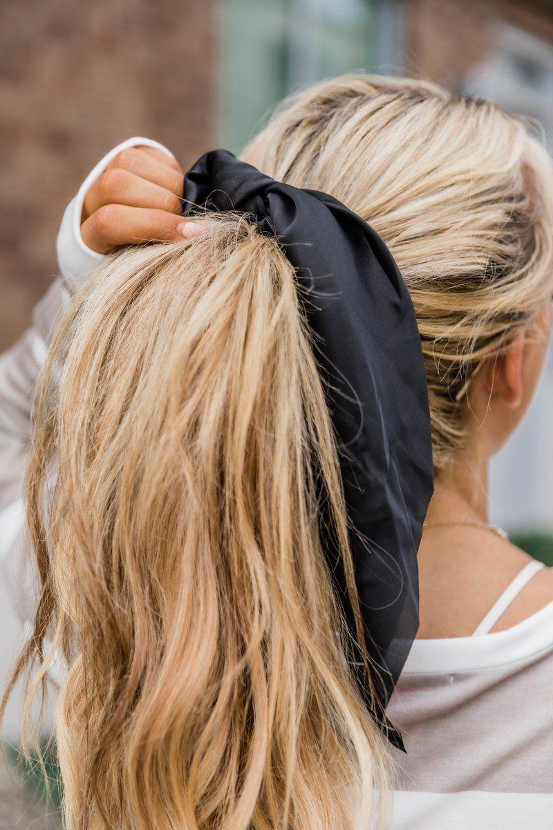 penteado com lenço