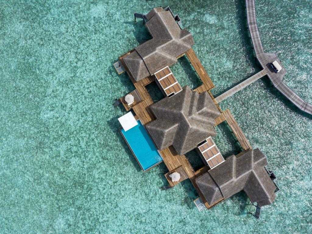 Maldivas ganham resort com maiores casas flutuantes do mundo - Reprodução