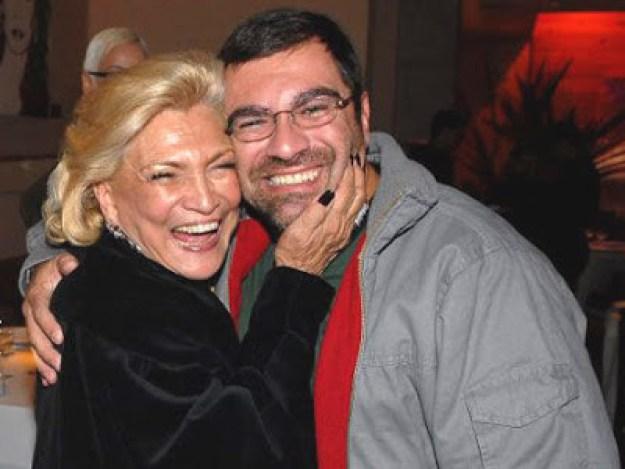 Hebe e o filho Marcello - Reprodução