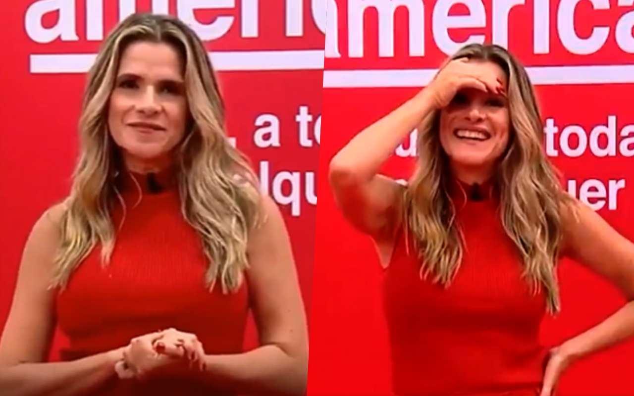 Ingrid Guimarães fala de A Fazenda no BBB21 e toma bronca ao vivo - Globo