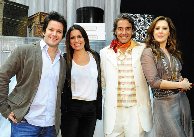 Alexandre Borges, Claudia Raia, Murilo Benício, Malu Mader.
