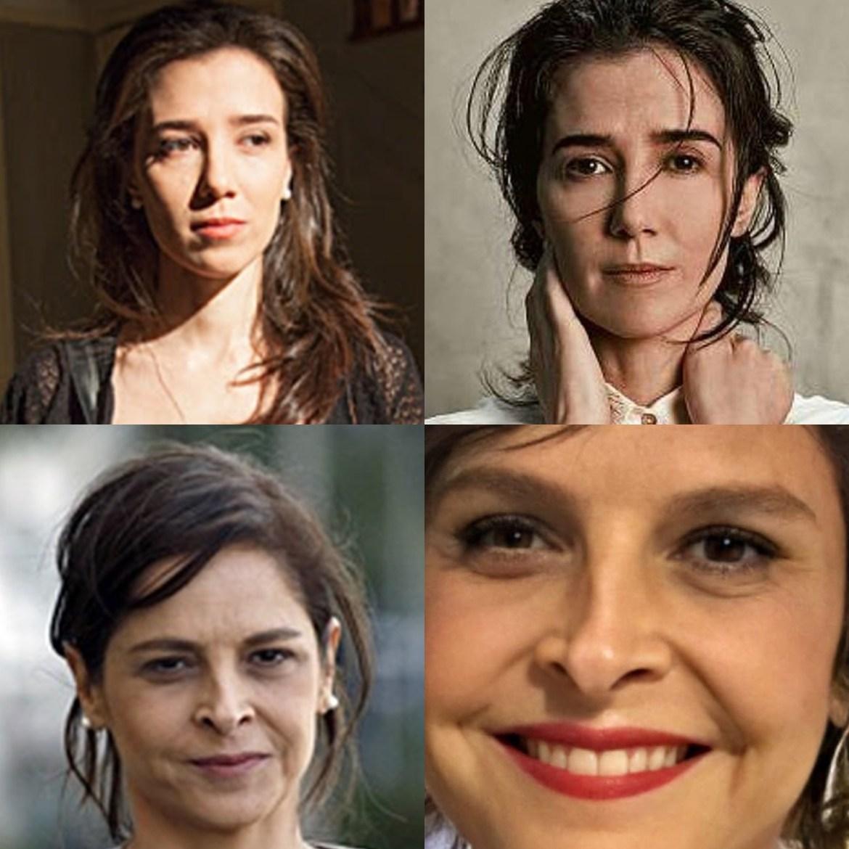 Marjorie Estiano e Drica Moraes na trama X atualmente.