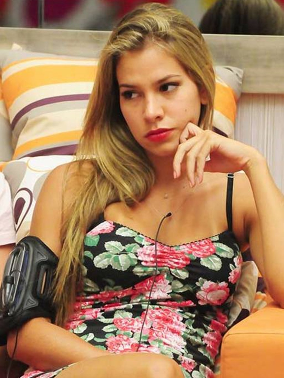 Adriana Sant'anna no BBB10.