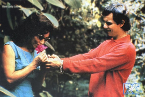 Roberto Carlos e Lady Laura