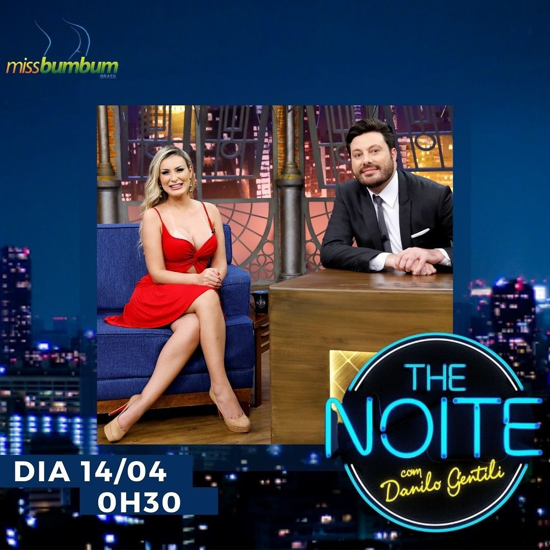 Urach no The Noite com Danilo Gentili.
