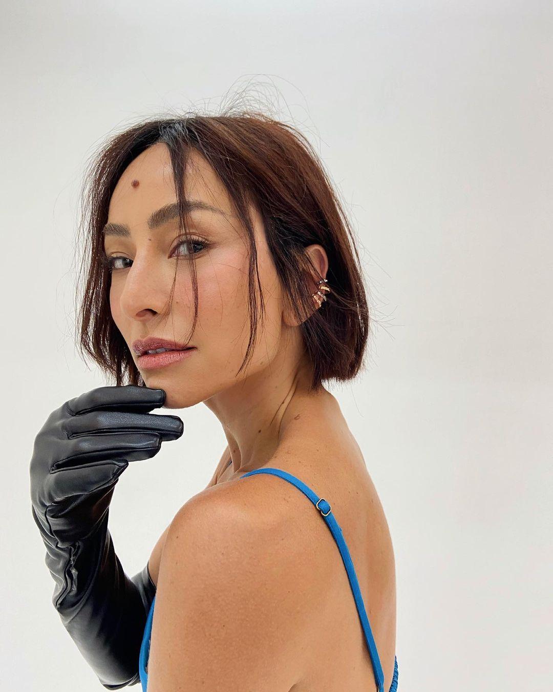 Novo visual de Sabrina Sato - Corte curto.