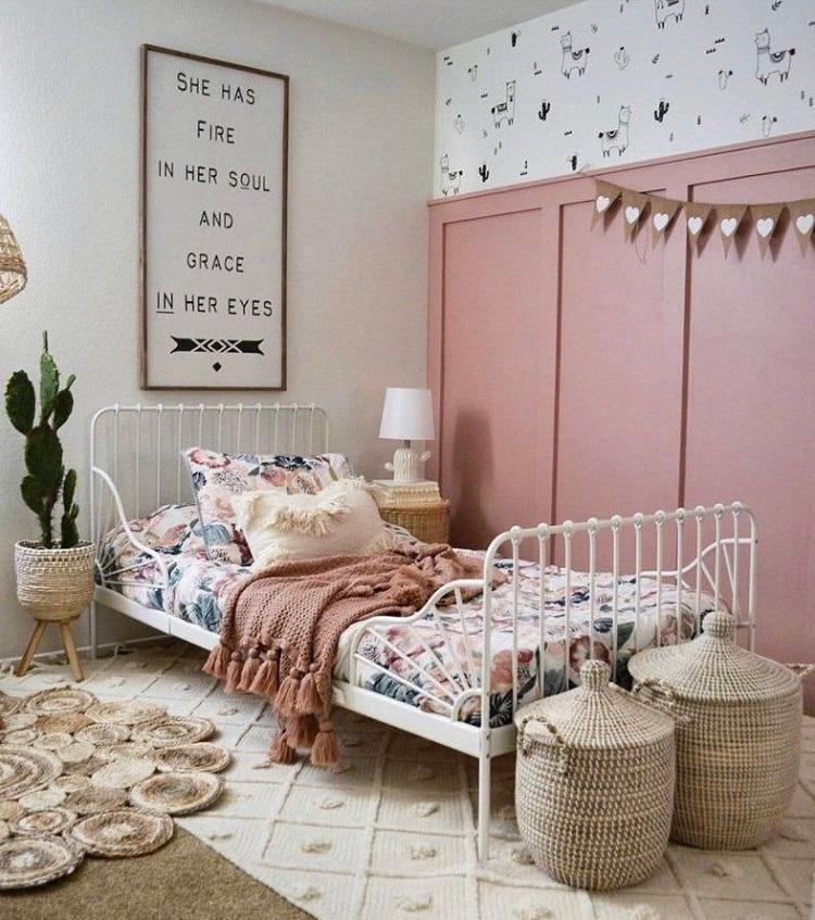 quarto com decoração feminina